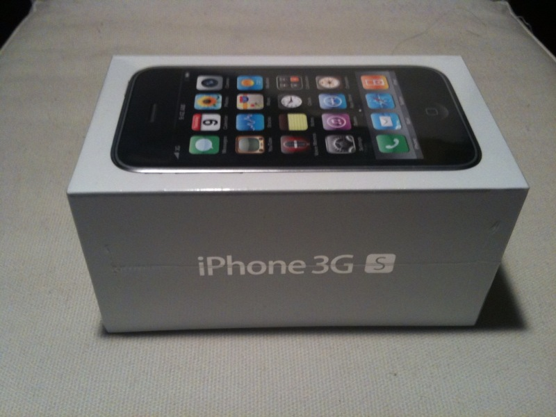 Nysobukyfi White Iphone 3gs Box